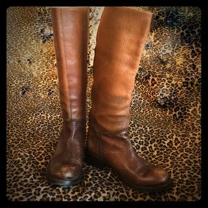 VINTAGE-INSPIRED ASH HANDMADE LEATHER BOOTS ❤️